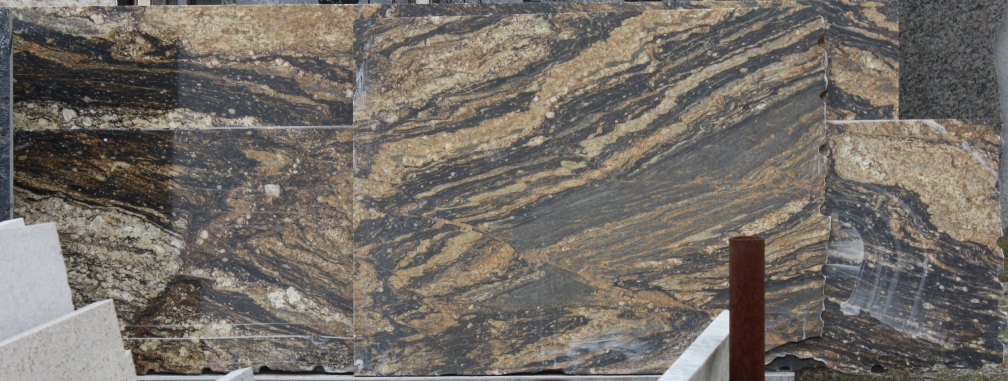 Granite for master bathroom???? Black and gold and kind of exotic ...