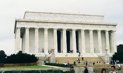 The Lincoln Memorial (outside)
